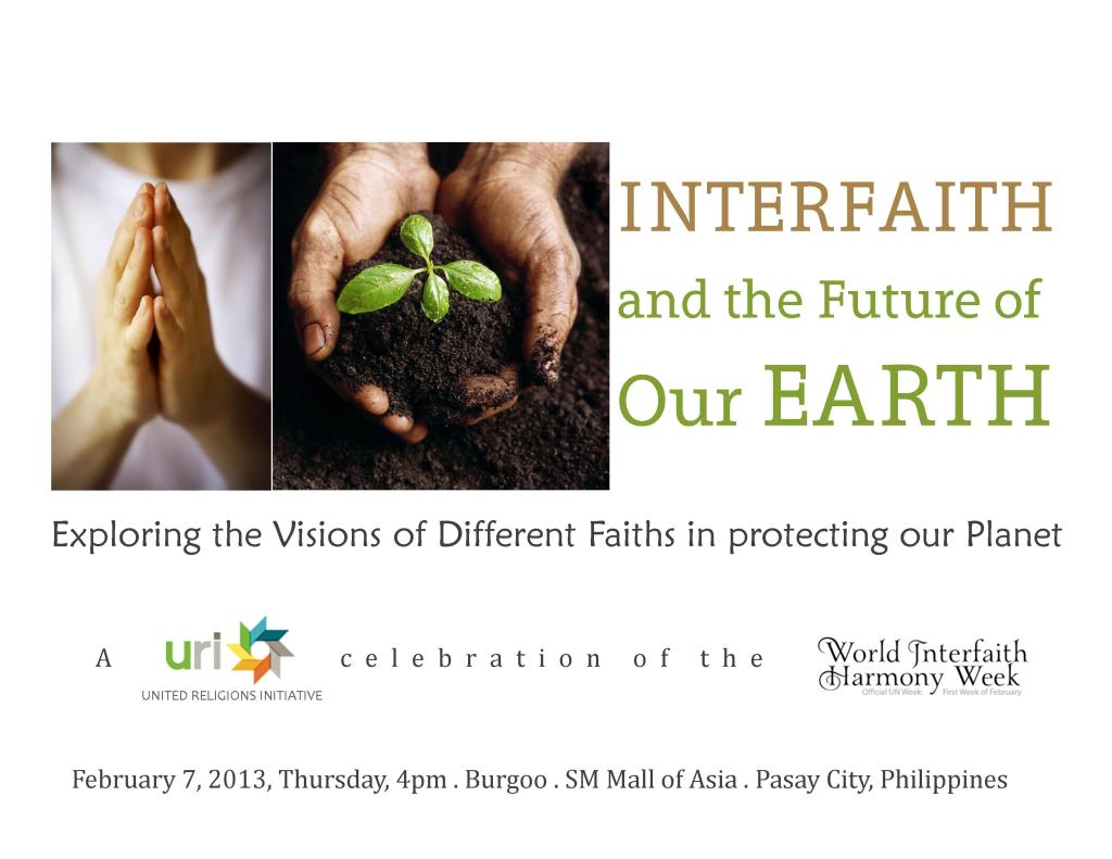 URI INTERFAITH EVENT
